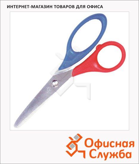 фото: Ножницы для левшей Brunnen 13см красно-синие