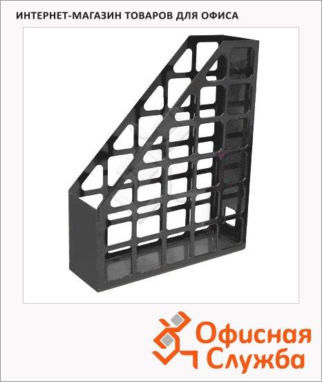 Накопитель вертикальный для бумаг Оскол-Пласт А4, 70мм, серый, 9054