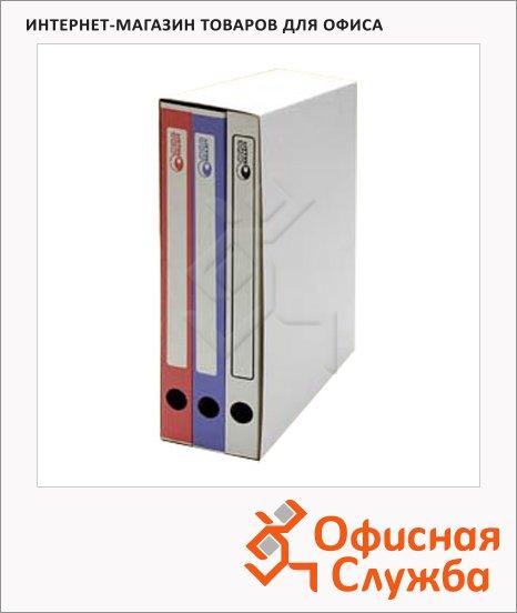 Архивный бокс Промтара Офис Стандарт белый, А4, 50 мм, 335