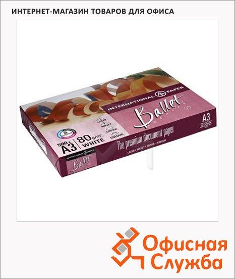 фото: Бумага для принтера Ballet Premier А3 500 листов, 80г/м2, белизна 161%CIE