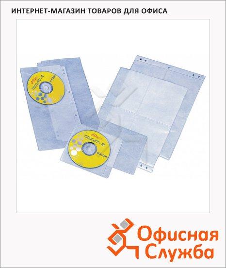 Папка для CD/DVD Profioffice MF-2 07032 прозрачная, на 24 диска