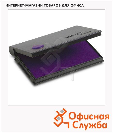Штемпельная настольная подушка Colop Micro 1 90х50мм, краска на водной основе, фиолетовая