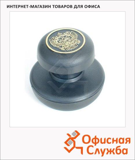 фото: Оснастка для круглой печати Colop С гербом Россия d=45мм черная