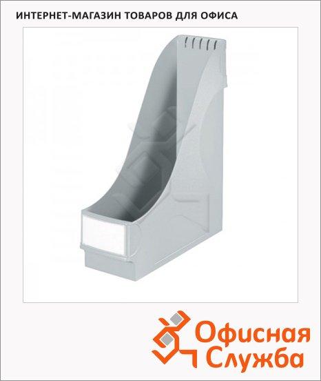 фото: Накопитель вертикальный для бумаг Leitz А4 95мм, серый, 24250085