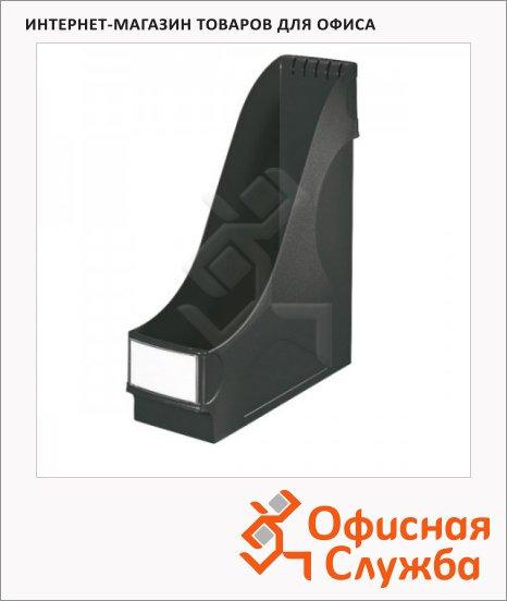 Накопитель вертикальный для бумаг Leitz А4, 95мм, черный, 24250095