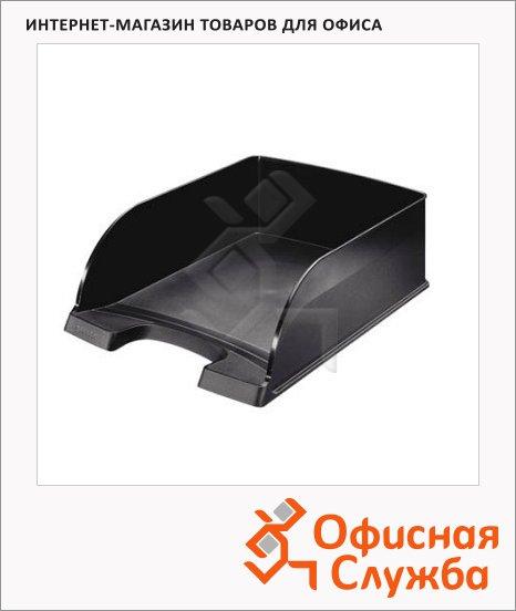 фото: Лоток горизонтальный для бумаг Leitz Plus Jumbo A4 черный, 52330095