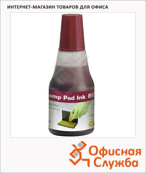 Штемпельная краска на водно-глицериновой основе Colop 25 мл, 801, красная