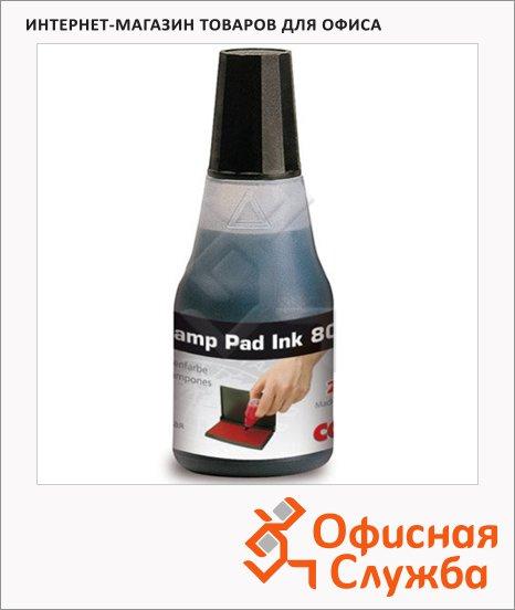 фото: Штемпельная краска на водно-глицериновой основе Colop 25 мл 801, черная