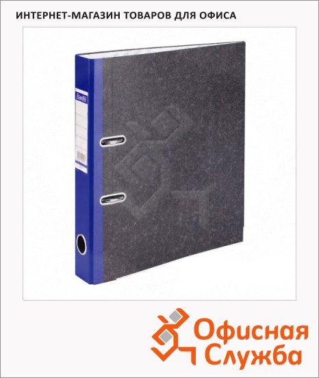 Папка-регистратор А4 Bantex синяя, 75 мм, 1425-01