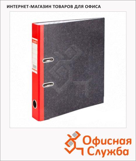 фото: Папка-регистратор А4 Bantex красная 75 мм, 1425-09