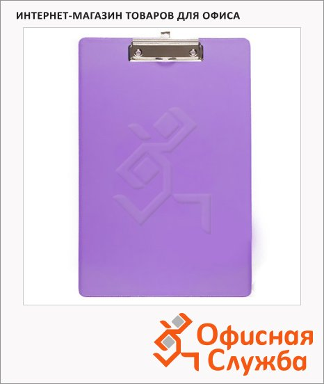Клипборды без крышки Bantex сиреневая, А4, 4201-21