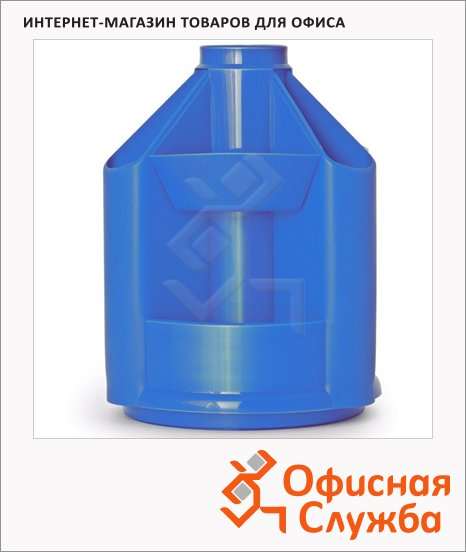 Органайзер настольный Стамм Mini Desk 10 секций, 140х107мм, синий, ОР73