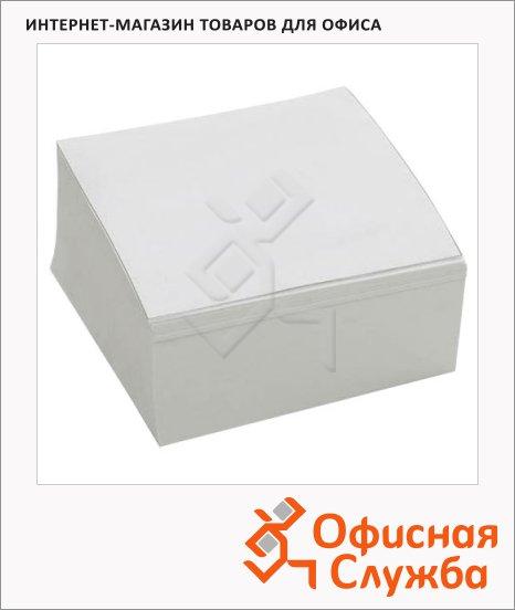 Блок для записей белый, 9х9х5см, непроклеенный