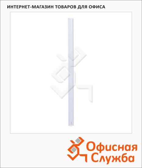 Скрепкошина Durable прозрачная, 12мм, до 120 листов, 25 шт/уп, 2912-19