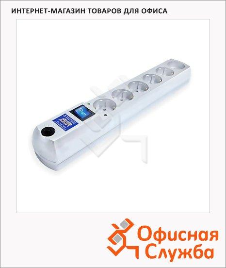 Сетевой фильтр Most HV6 6 розеток, белый, 5м