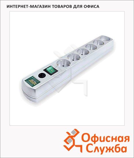 фото: Сетевой фильтр Most Erg-USB 5 розеток 1.7м, белый