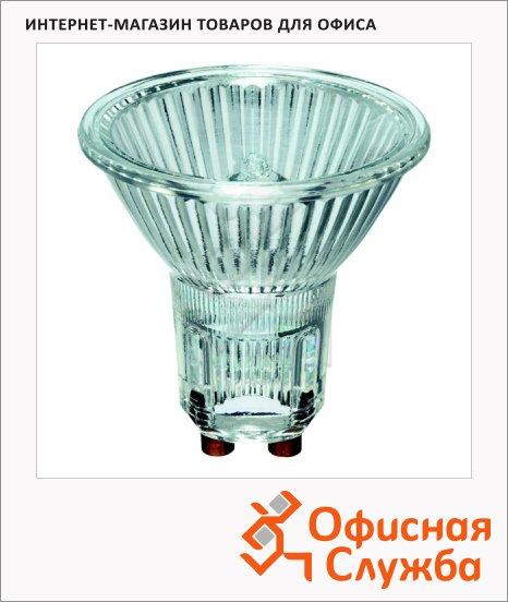 фото: Лампа галогенная Tw Alu 40D 50Вт GU10, зеркальная, белый свет