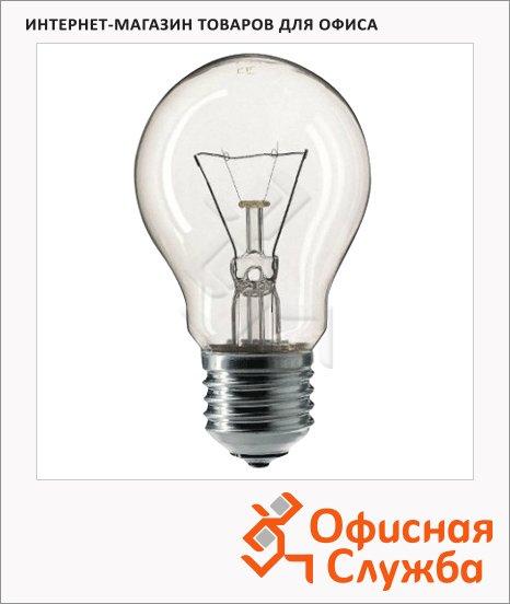 Лампа накаливания Philips A55 CL 60Вт, E27