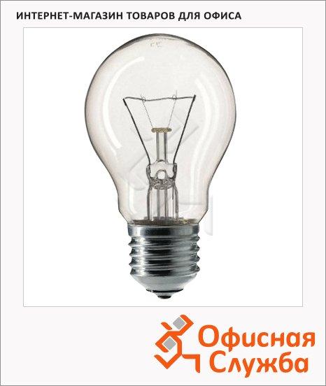 Лампа накаливания Philips A55 CL 75Вт, E27