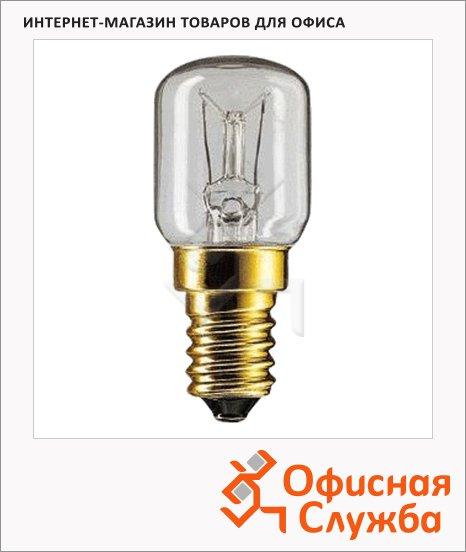 Лампа накаливания Philips T25CL 15Вт, E14