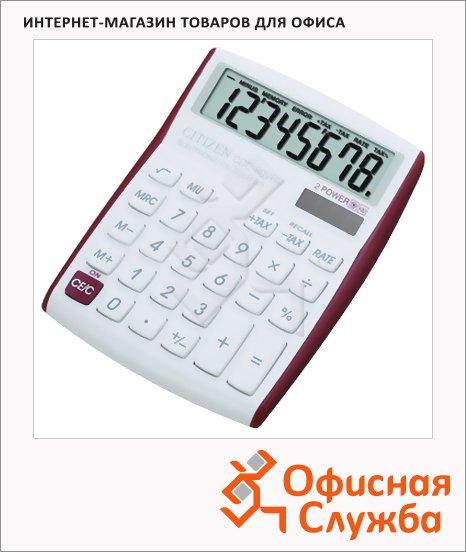 Калькулятор настольный Citizen CDC-80VRDBP красный, 8 разрядов
