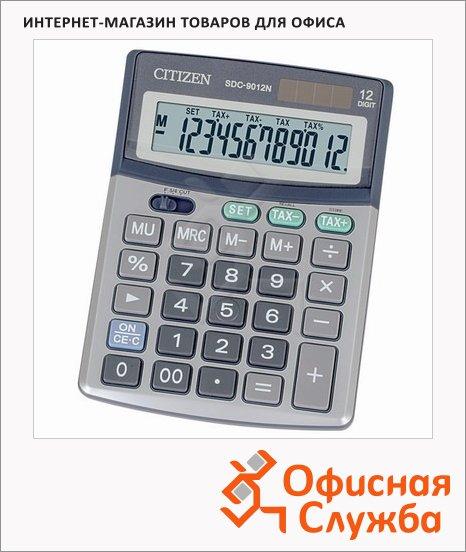 фото: Калькулятор настольный Citizen SDC-9012N серебристый 12 разрядов