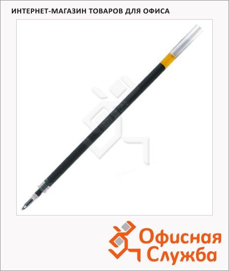 Стержень для гелевой ручки Brauberg черный, евронаконечник, 0.5мм, 130мм, 170167