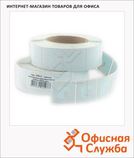 Этикетки защитные радиочастотные 8.2 МГц, 40х40мм, 1000шт, белые