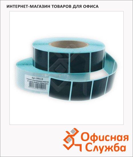 фото: Этикетки защитные 40х40мм черный