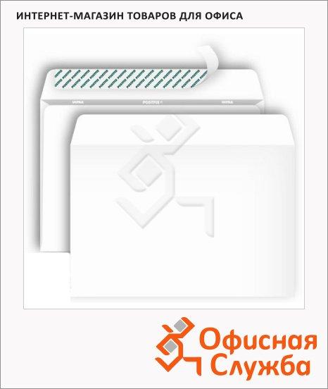 Конверт почтовый Bong Е65 белый, 110х220мм, 80г/м2, 1000шт, стрип