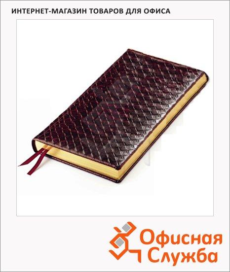 Ежедневник полудатированный Bruno Visconti Magnum коричневый, А6, 208 листов