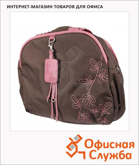 """Сумка для ноутбука Samsonite 16"""", коричнево-розовая"""