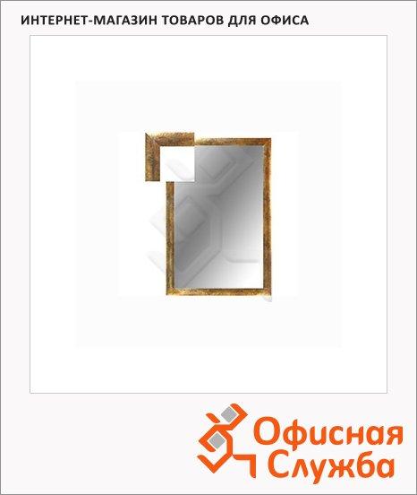 фото: Зеркало настенное 1801 золото руджин