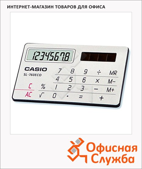 фото: Калькулятор карманный SL 760 ECO