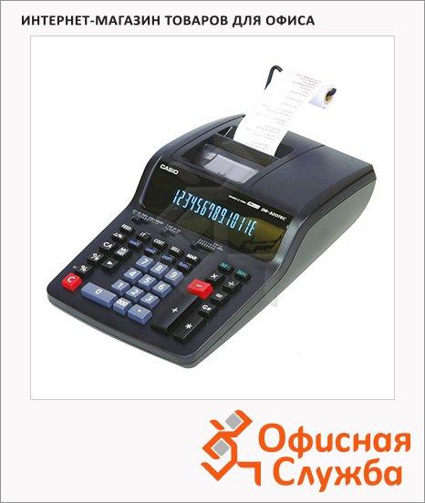 фото: Калькулятор с печатающим устройством Casio DR-320 TEC E-EH двухцветная печать 14 разрядов