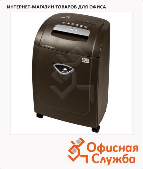 Персональный шредер Profioffice Alligator 608CC+, 8 листов, 32 литра, 4 уровень секретности
