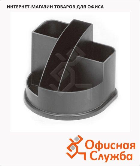 Органайзер настольный Стамм Авангард 5 секций, 132х122х108мм, серый, ОР51
