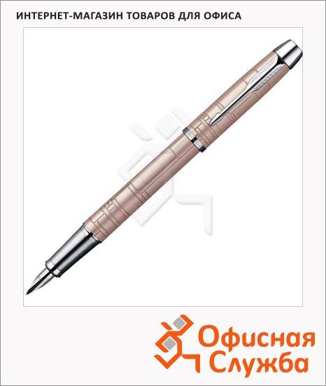 фото: Ручка перьевая IM Premium F222 F розовый металлик корпус
