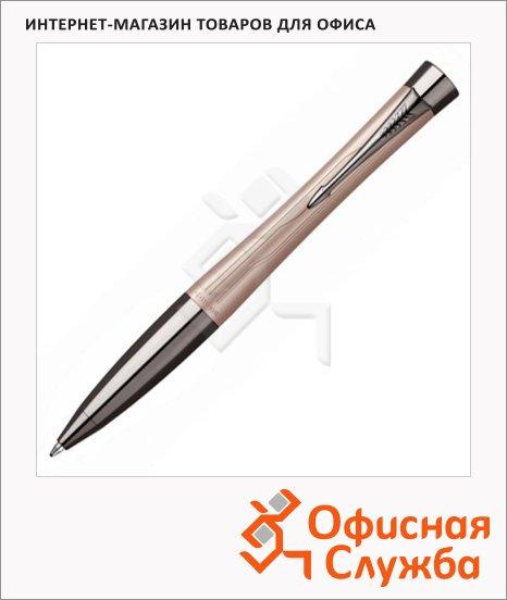 Ручка шариковая Parker Urban Premium М, синяя, розовый металлик корпус