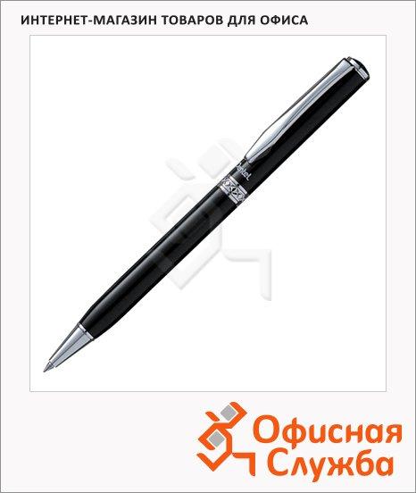 Ручка шариковая автоматическая Pentel Sterling черная, 0.4мм