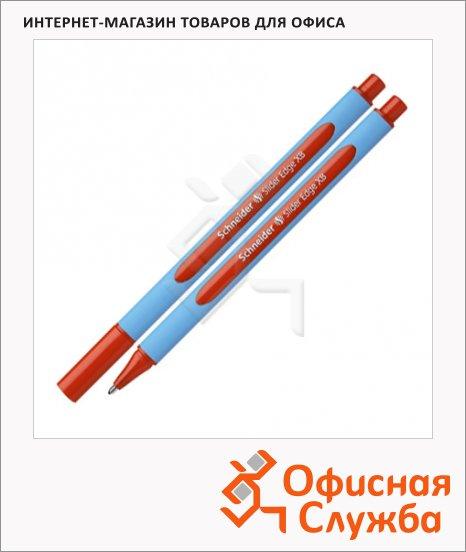 Ручка шариковая Schneider Slider Edge XB красная, 0.9мм