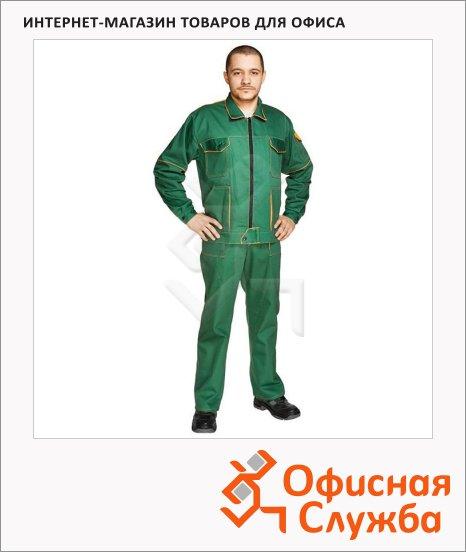 Костюм рабочий мужской Мастер (р.60-62) 182-188, темно-бирюзовый, брючный