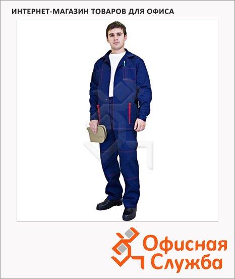 Костюм рабочий летний Маяк (р.56-58) 182-188, темно-синий