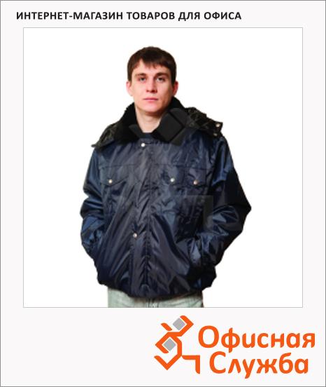 Куртка мужская зимняя Полюс (р.52-54) 182-188, темно-синяя