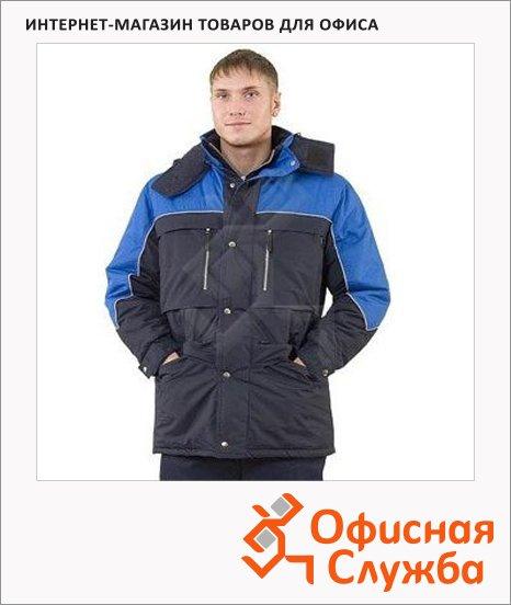 фото: Куртка мужская зимняя Вега (р.60-62) 182-188 сине-васильковый