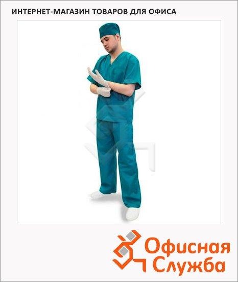 фото: Костюм хирурга универсальный (р.60-62) 182-188 зеленый