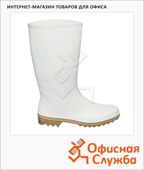 Сапоги ПВХ 370Нмб р.38, женские, белые