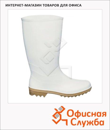 Сапоги ПВХ 370Нмб р.40, женские, белые