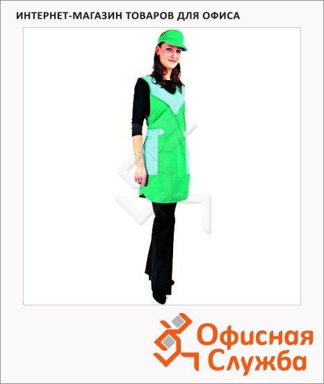 Фартук Фантазия зеленый, с козюрьком