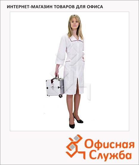 фото: Халат медицинский женский Натали (р.60-62) 158-164 белый